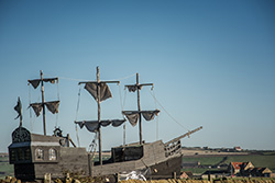 Pirate ship - Whitby