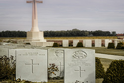 Graves near Ypres